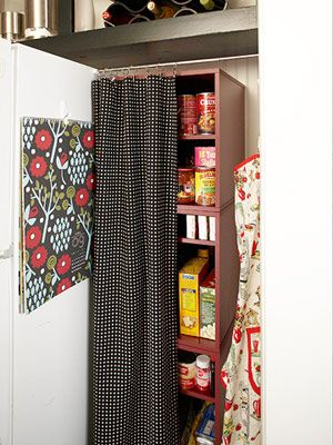 Savvy Ways To Store Food Bookshelf Pantry No Pantry