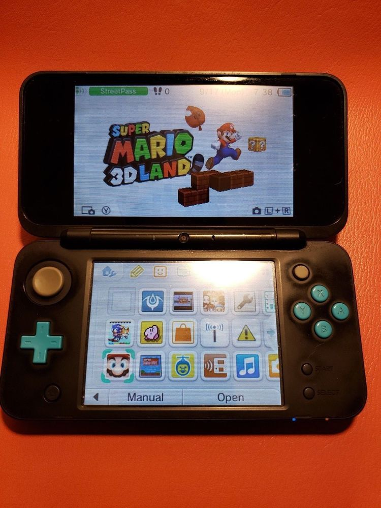 New Nintendo 2ds Xl With Games Downloaded Mario Fire Emblem Zelda And More Nintendo Nintendo 2ds Cute Games