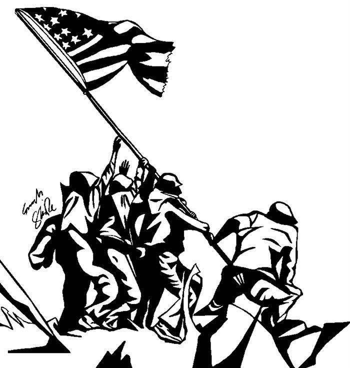 Perfect Veterans Day Clipart Black And White