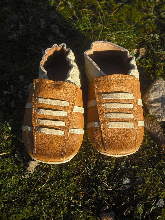 ebooba Leather Baby Slippers Toddler Shoes Soft Sole Baby Shoes Girls/' Infant Botties Handmade Krabbelschuhe Dark Brown Baby Shoes