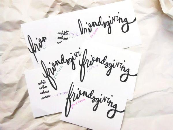 free download friendsgiving invitations in 2018 0 pinterest