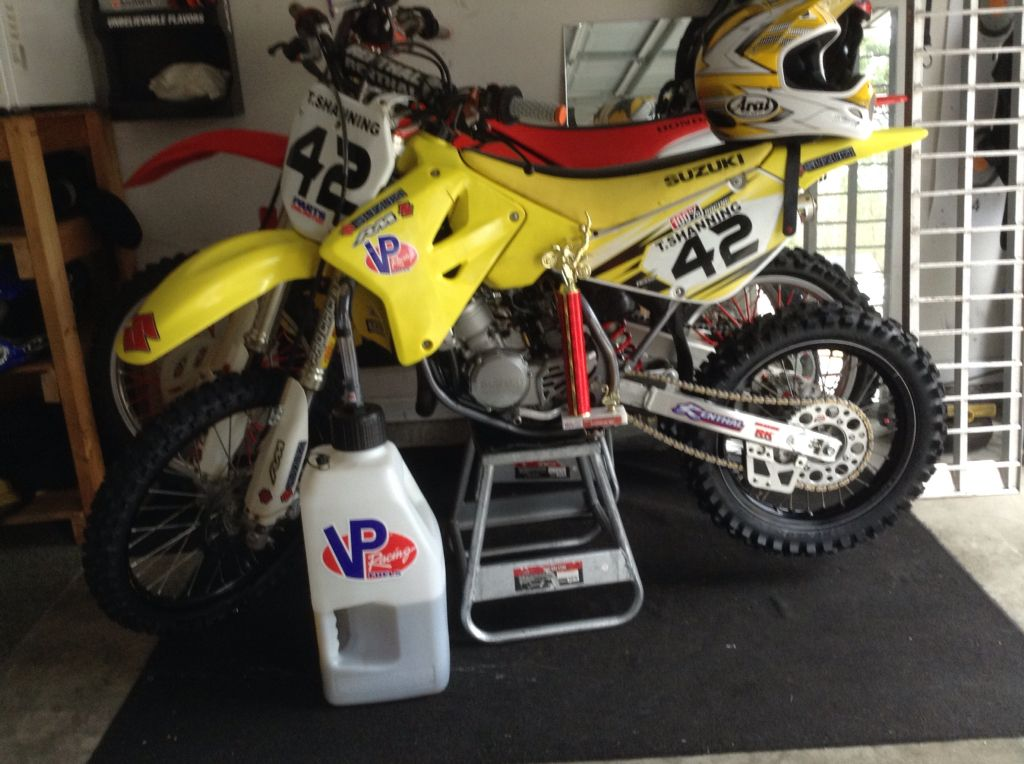 This is my awesome 2008 RM85 supermini | Suzuki RM85 | Pinterest