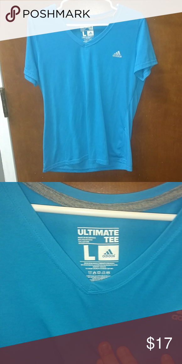 the latest 4f2a8 4c3a2 Adidas ultimate tee Brand New without tags! In perfect condition adidas  Tops Tees - Short Sleeve