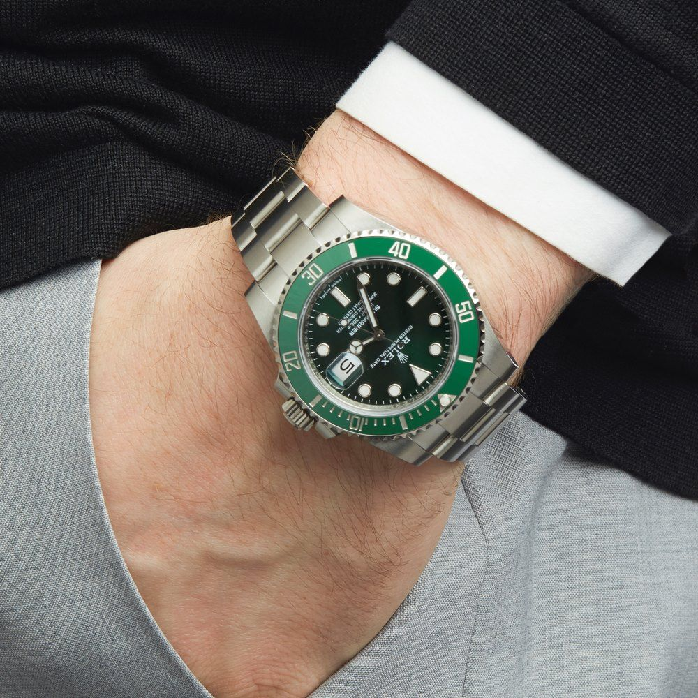 Pre Owned Rolex Watch Submariner 116610lv Xupes