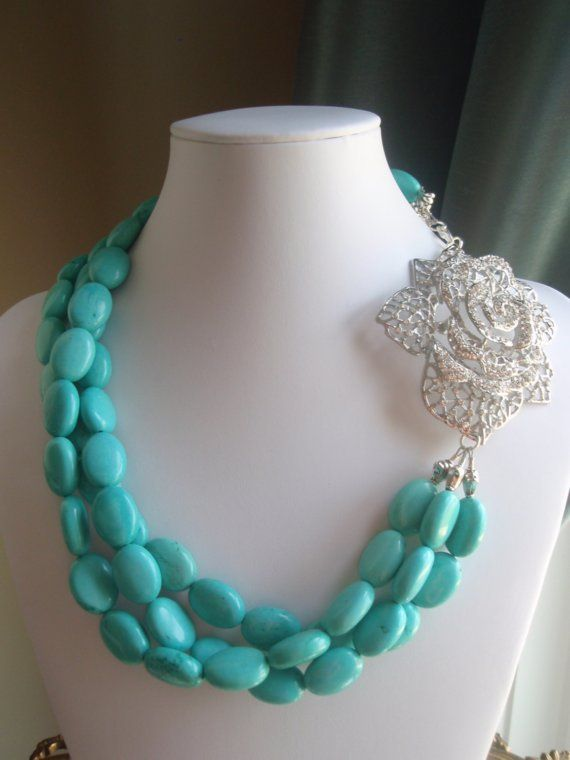Turquoise Jewelry wedding Il 570xN153333182 NECKLACE Turquoise