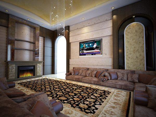 تصميم ديكورات مجالس جديدة واسعة Living Room Design Modern Living Room Design Decor My Home Design