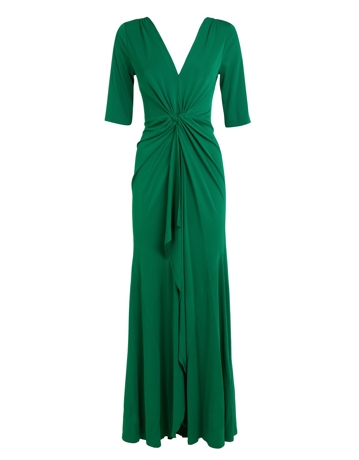 Cath long sleeved maxi dress green monsoon things to wear