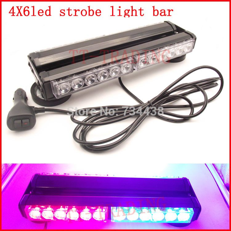 Strobe Lights For Cars Entrancing Police Strobe Lights 24 Led Warning Light Car Roof Light Led Mini 2018