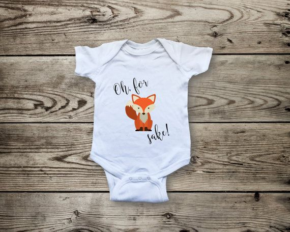 18e2972f4 Oh For Fox Sake Onesie® Fox Shirts Unisex Kids by CreateAndShip ...