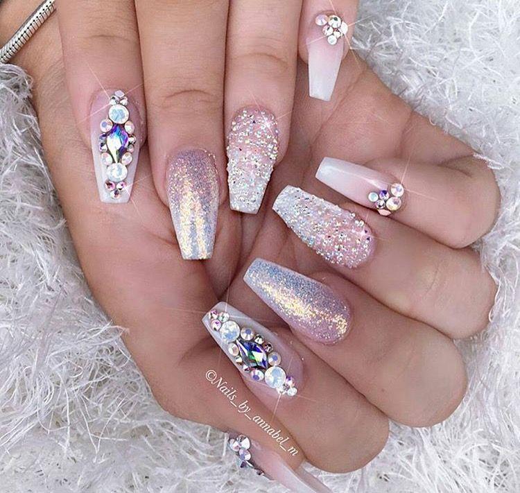 pinterest: omgalaina´- | Nail ideas | Pinterest | Nail nail, Bride ...