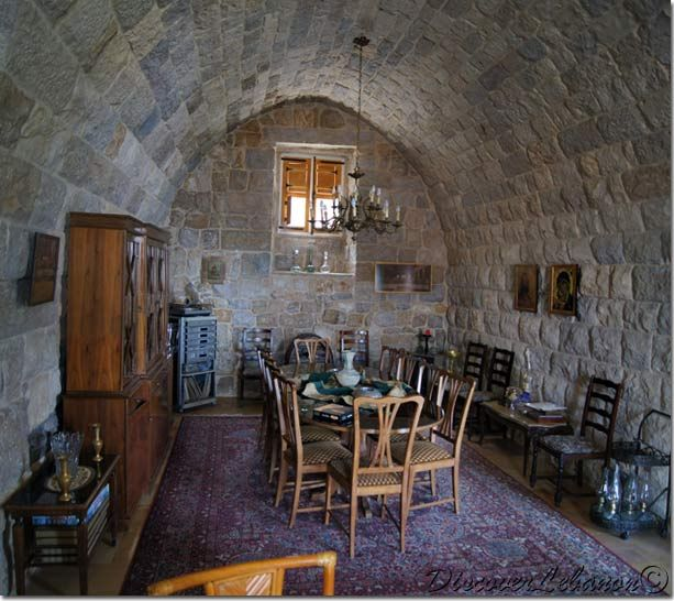 Old Interior Arabic Lebanese House Traditional Architecture