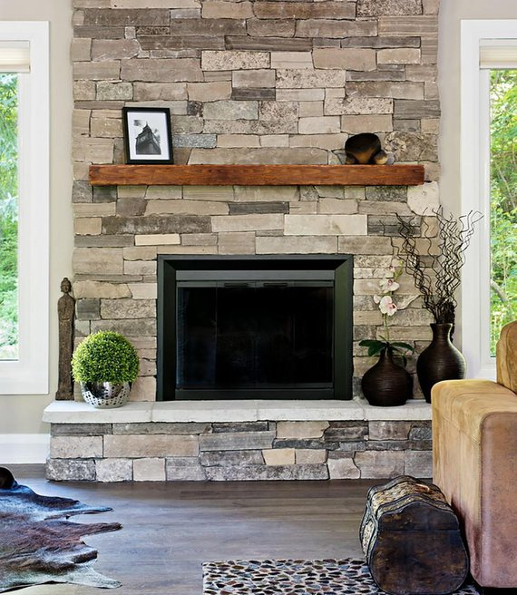 Stone Fire Place Ideas: Fireplace Mantle 8x8