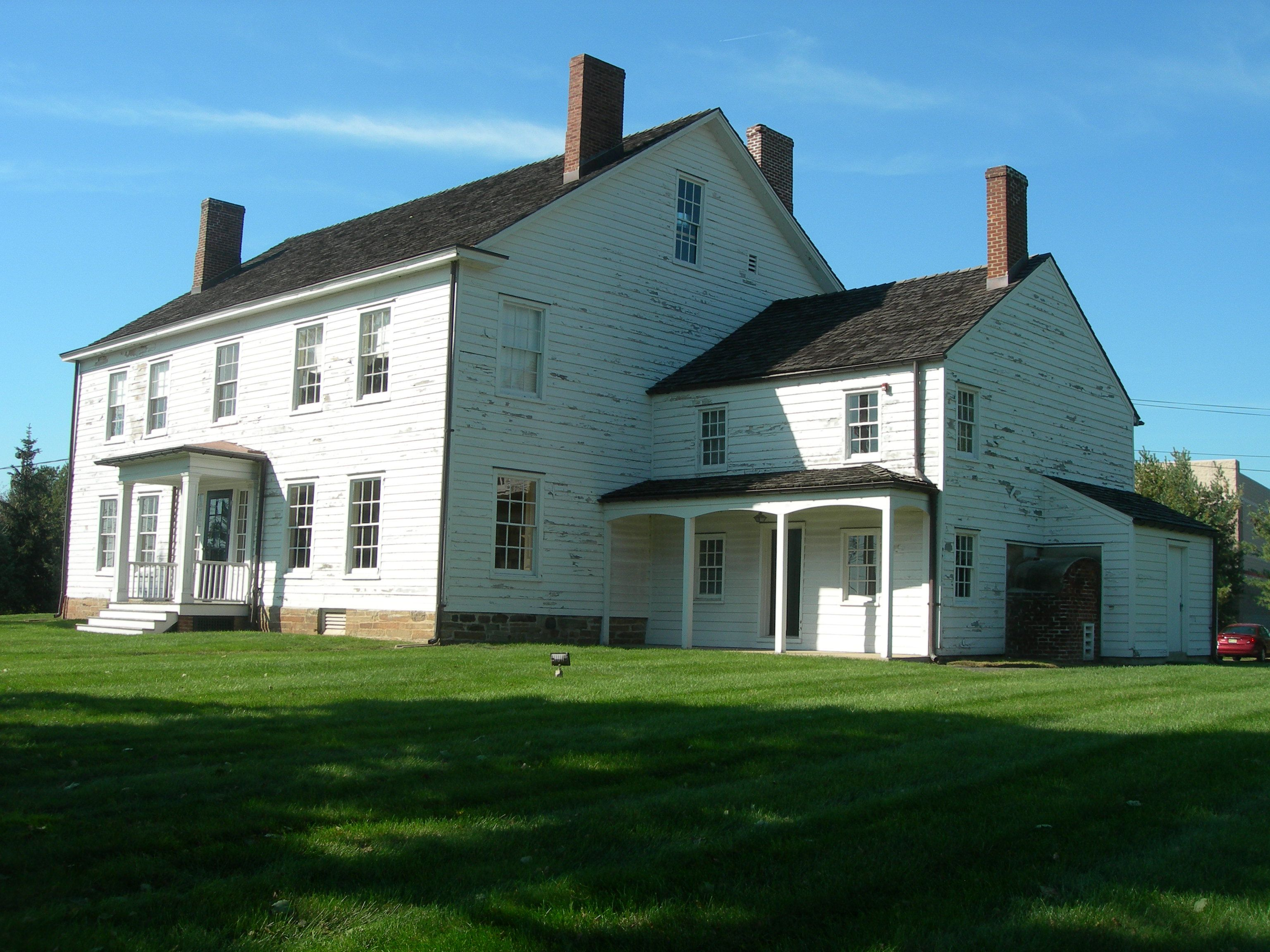 Van Horne House C 1750s Bridgewater Nj Historic Homes Great