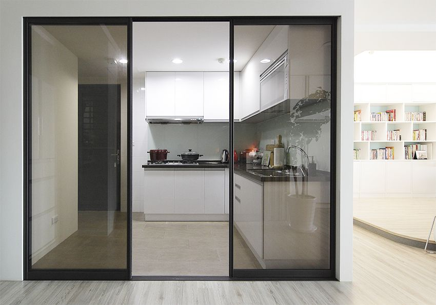黑色玻璃拉門 House Design Home Decor Home