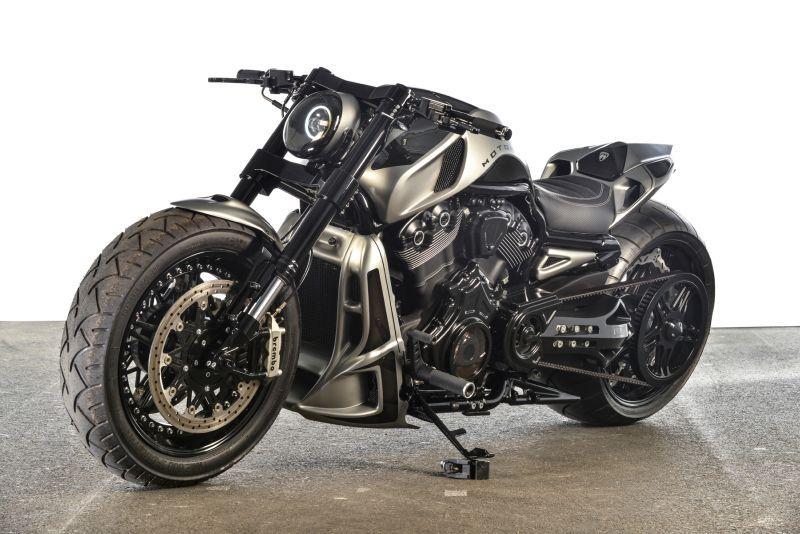 Harley Davidson V Rod Custombike By Motorhell Harley Bikes Motorcycle Harley Futuristic Motorcycle