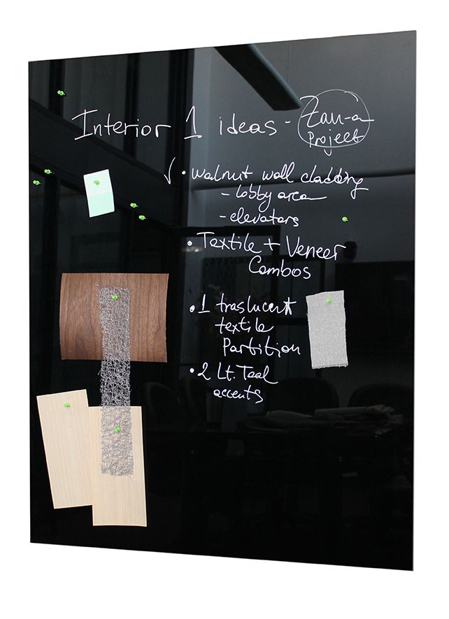 Magnetic Black Glass Marker Board By Bendheim Marker Board Glass Dry Erase Board Glass Marker