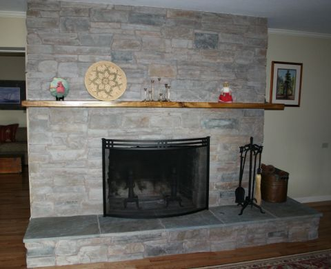 Fireplace Refacing Remodeling And Updating Before And After Photos Fireplace Remodel