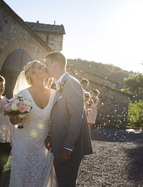 Intimate Italian Villa Wedding, Real Wedding Photos by ...