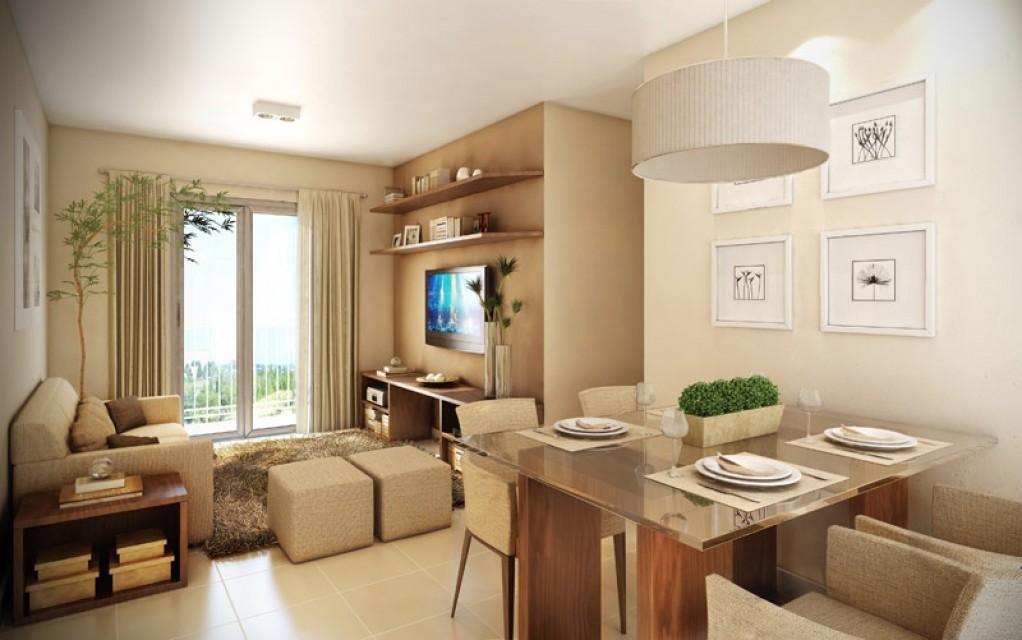 Sala de apartamento pequeno ch o laminado pesquisa for Pisos para apartamentos pequenos
