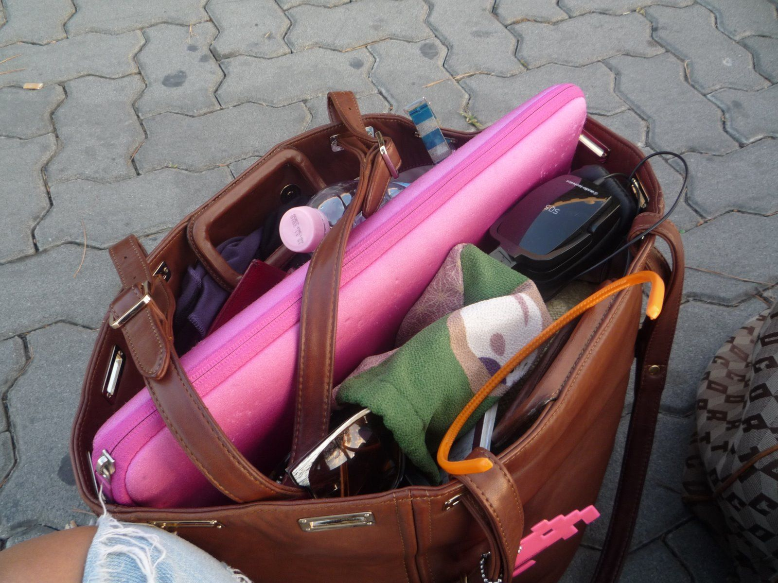 inside Boyy Drake Tote bag