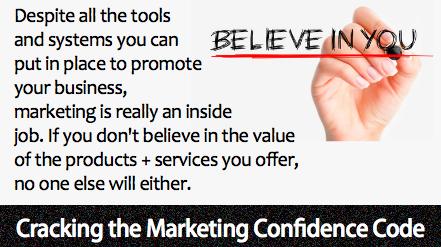 Marketing is an inside job!
