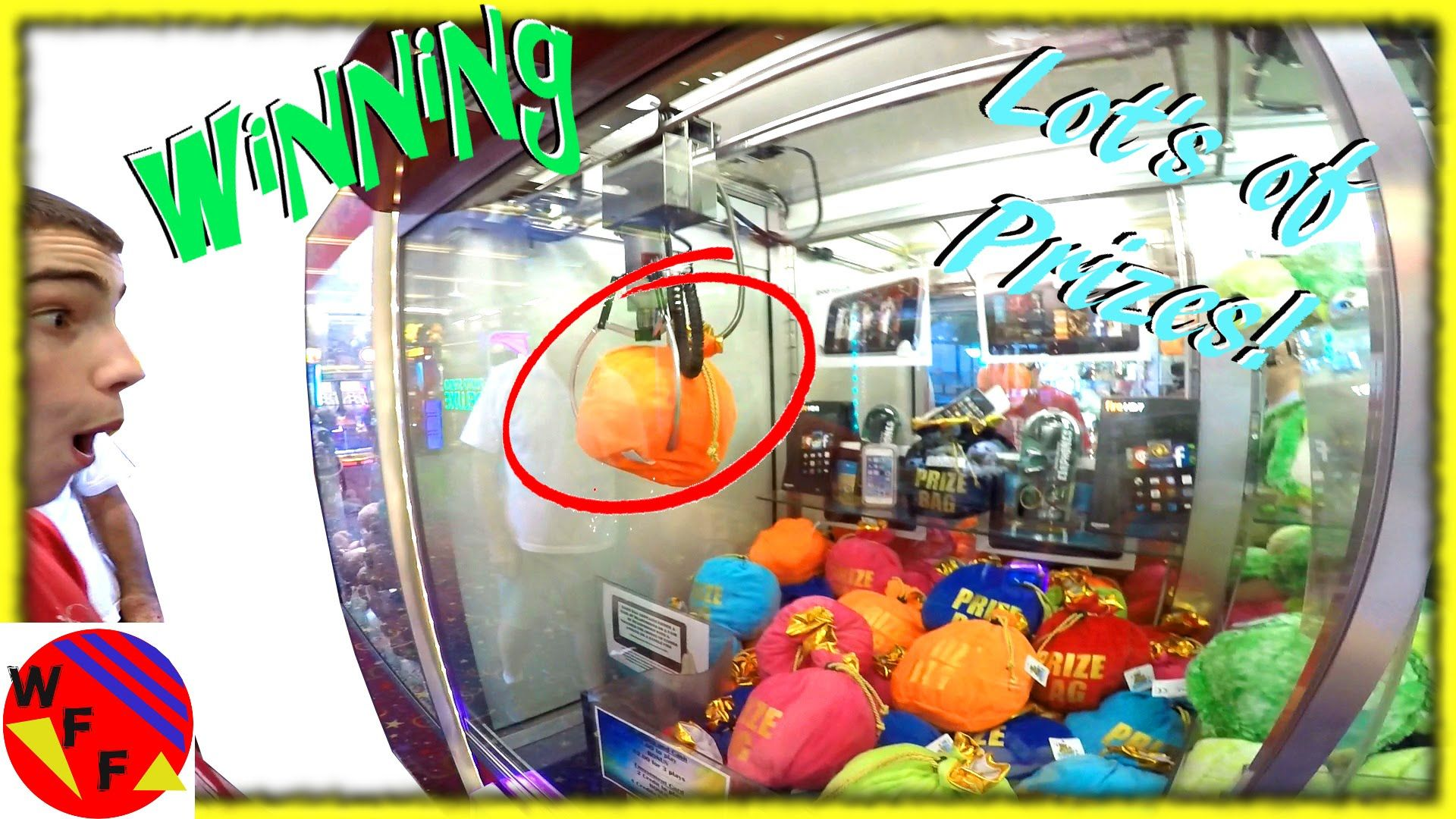 WINNING At The Claw Machine!  Weee Take on the Claw Crane Challenge and ...