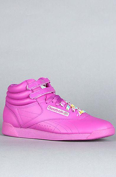 8c07a2d3f72 Women s The Hi Reign Sneaker in Neon Purple