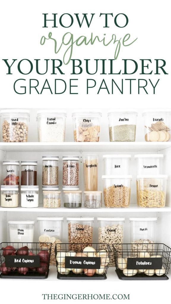 Realistic Tips for Pantry Organization - The Ginger Home