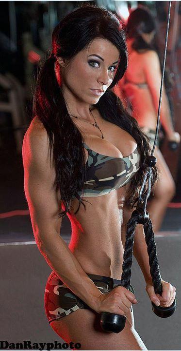Christina Halkiopoulos Frauen Fitness Motivation Madchen
