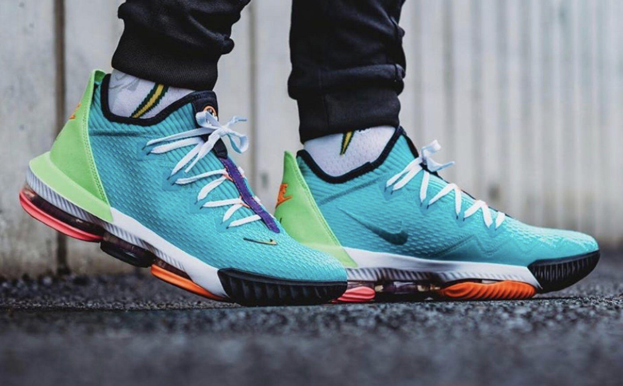 Sneakers, Nike, Lebron 16