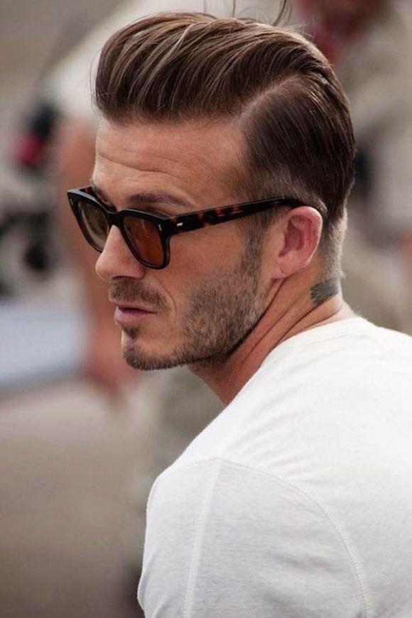 David Beckham Razor Part Mens Hair Pinterest Beckham Mens