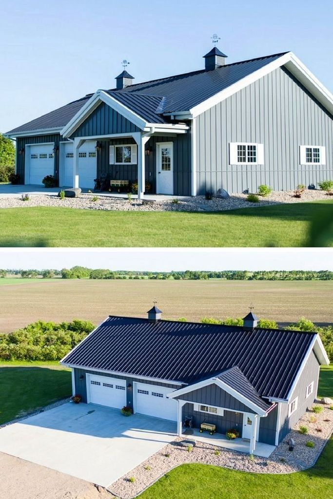 45 Perfect Metal Buildings Design Ideas for Stylish and Modern Design #Metalhomes