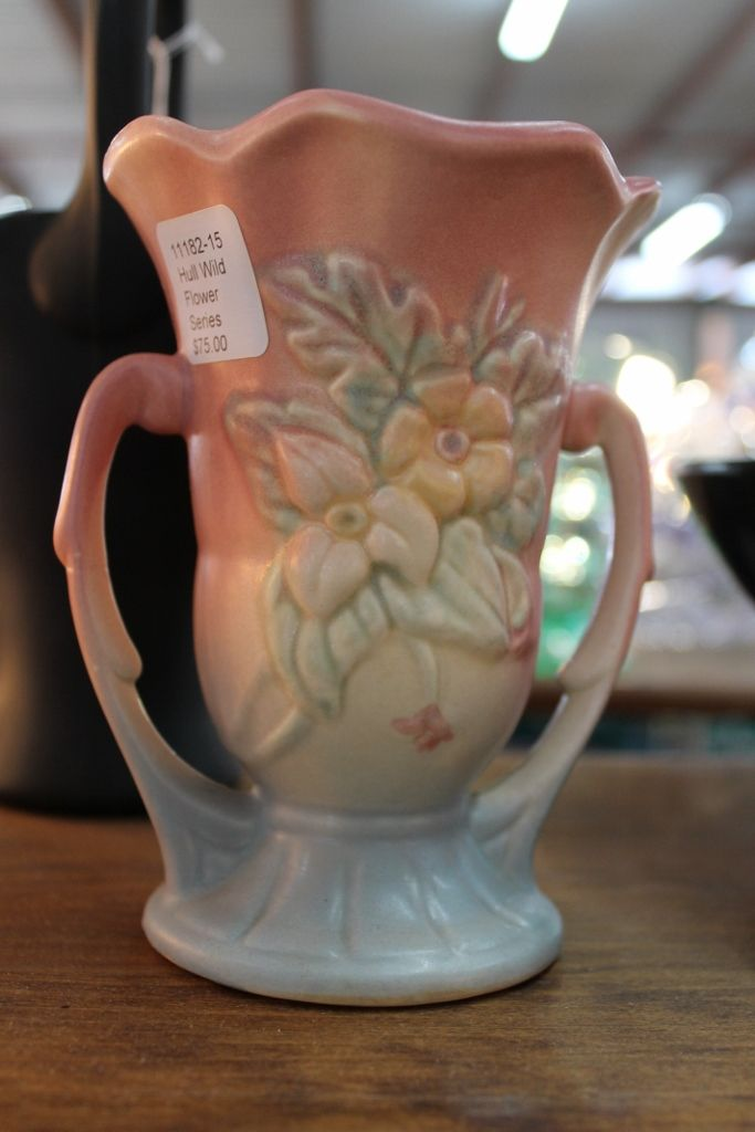 A Nice Hull Vase I Saw For Sale At The Round Top Texas Antiques