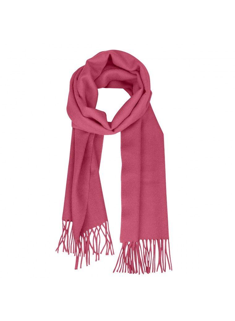 b531fad9288 Une touche de rose dans cette grisaille hivernale ! L écharpe Oro rose thé  vous