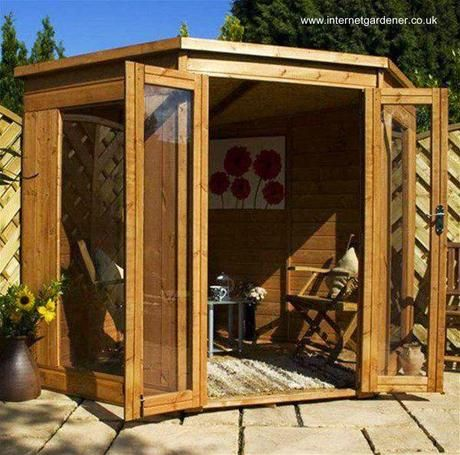 16 modelos de casitas de madera para el jard n casa de - Casitas pequenas de madera ...