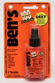 "There are all natural ""DEET-free"" insect repellents out there, but some people like the strength of DEET (like in the maximum strength Ben's 100 that is 98% DEET), in a convenient 1.25oz travel size."