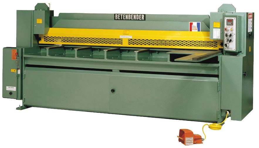 Brand New Betenbender Hydraulic Shear Sterling Machinery Hydraulic Shear Hydraulic Press Brake Hydraulic