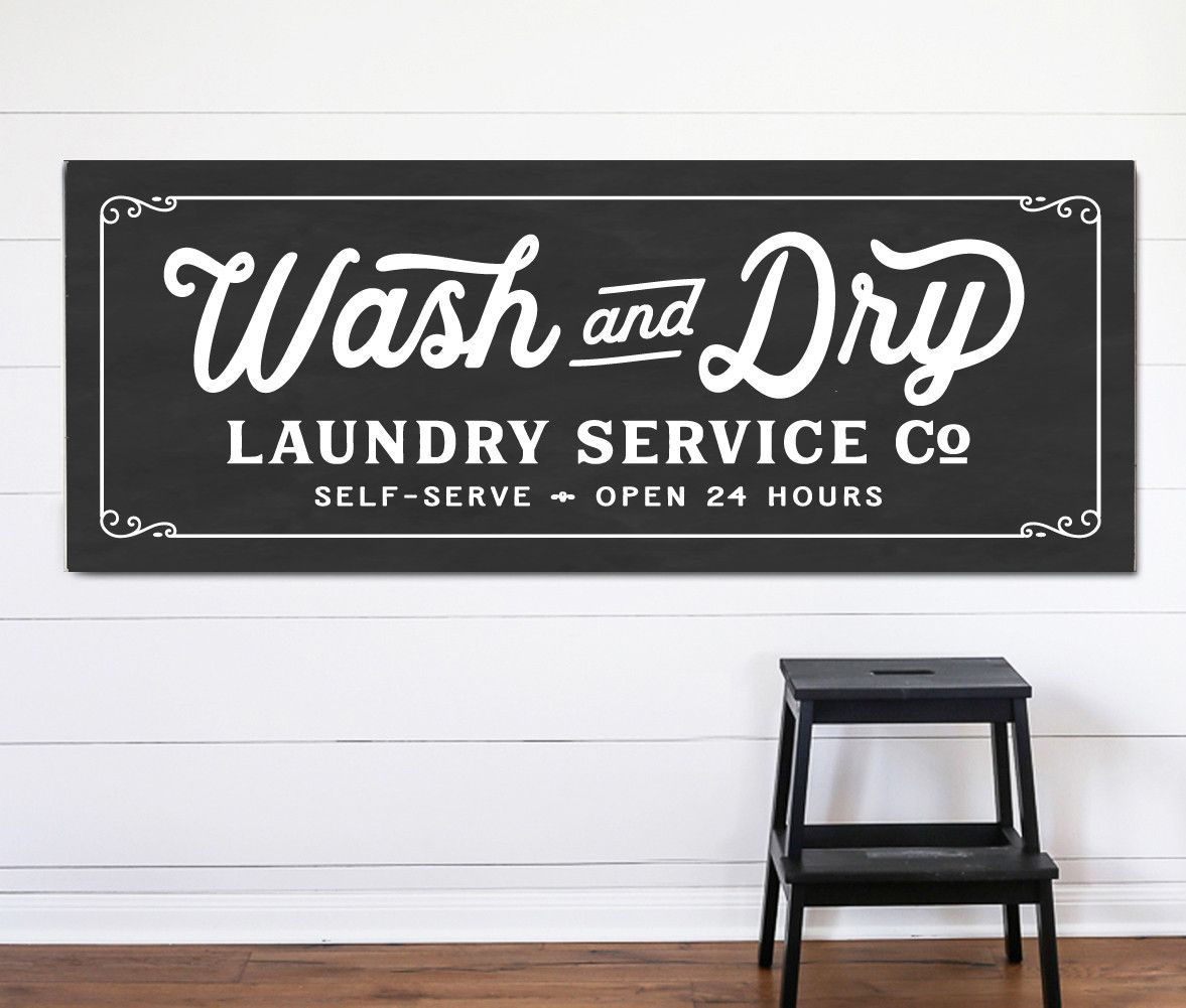 Instant Laundry Style Vintage Laundry Room Vintage Laundry Laundry Room Decor Signs