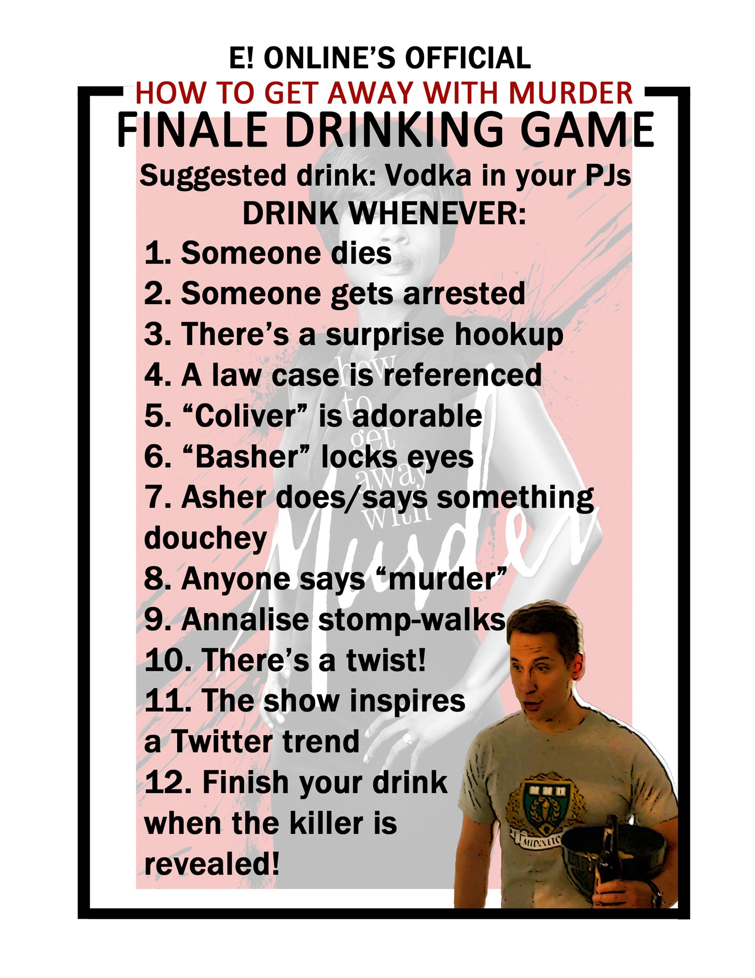 Play Our How to Get Away With Murder Finale Drinking Game!