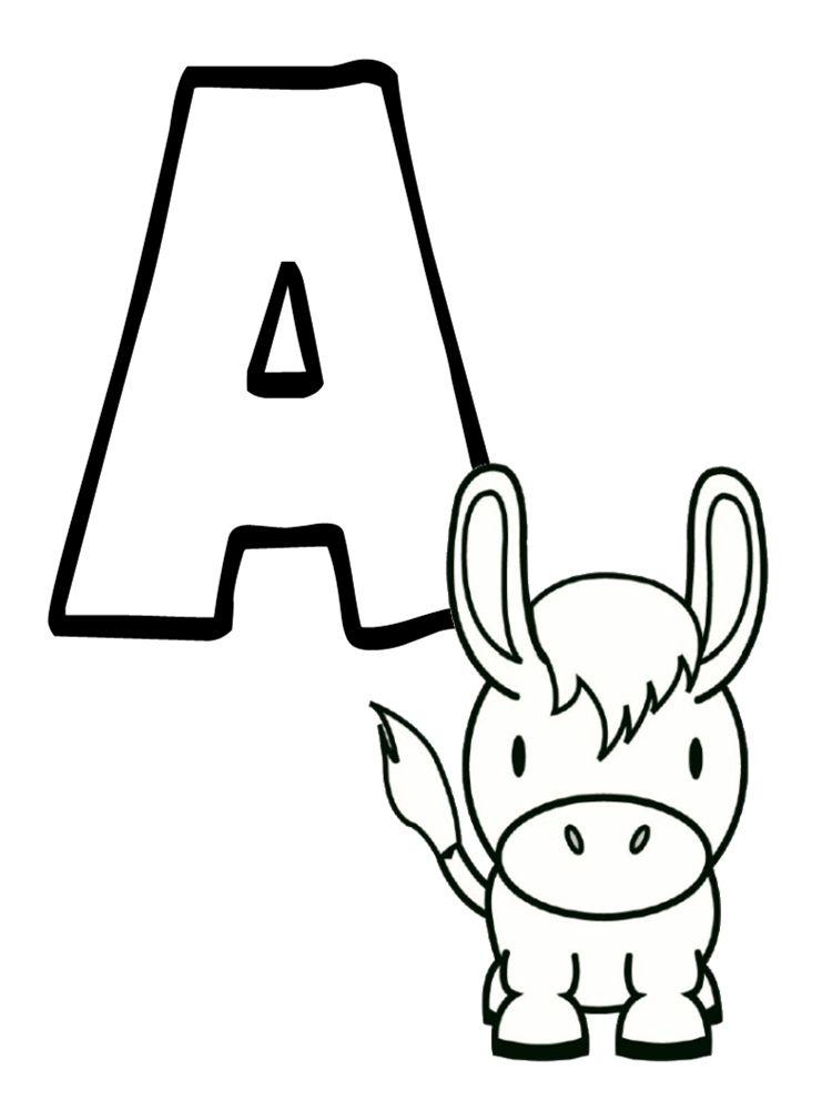 Ab c daire animaux imprimer gratuitement lettres et - Photo d animaux a imprimer gratuitement ...