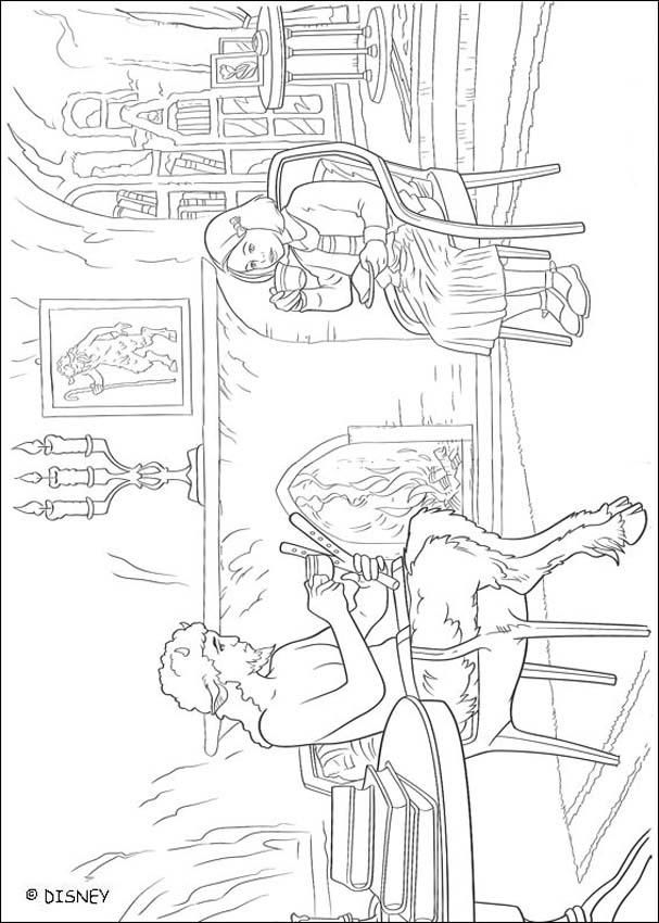 Mr Tumnus and Lucy coloring page | Lion Witch & Wardrobe Class ...