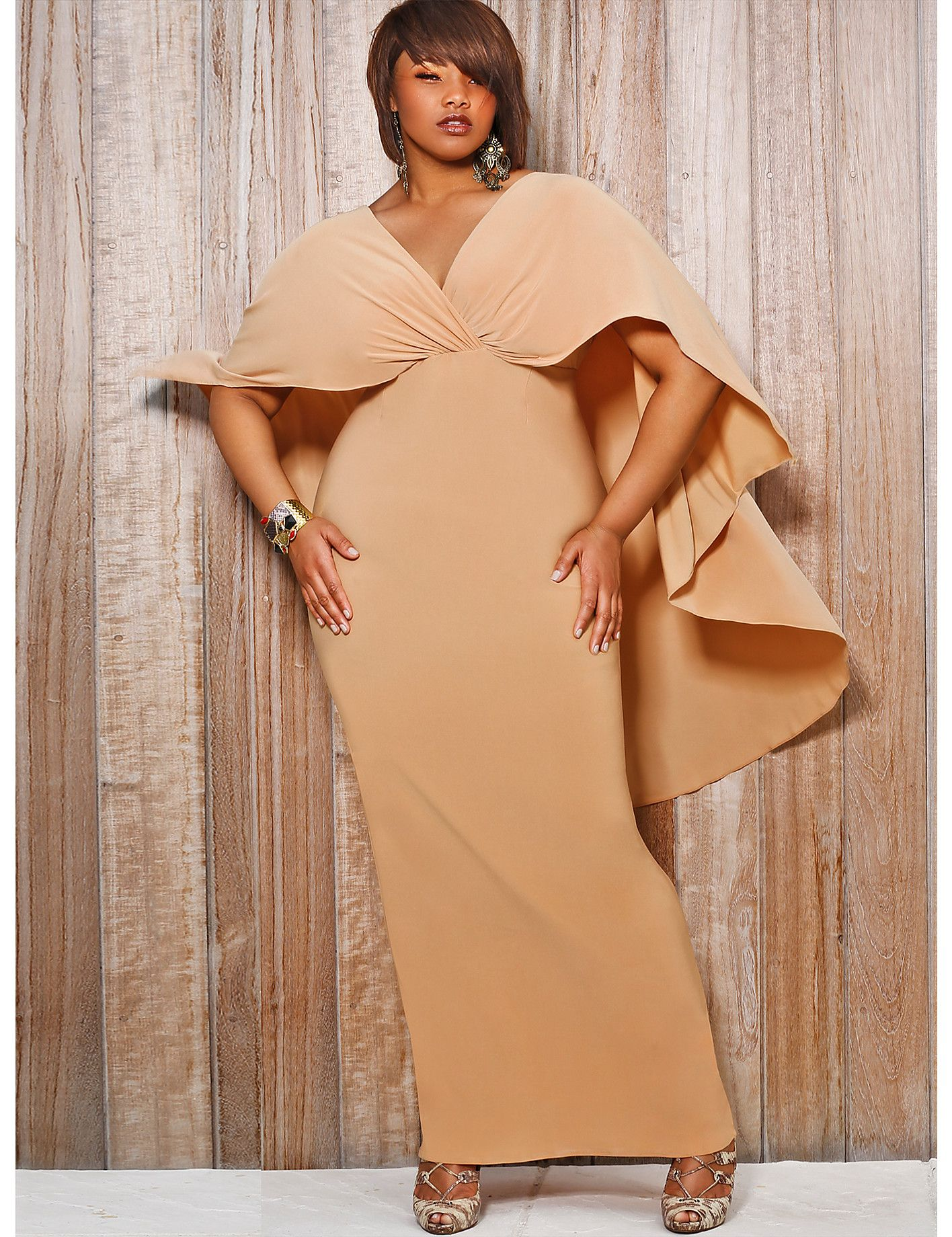 The bridgette capeback maxi dress is available for sale now but