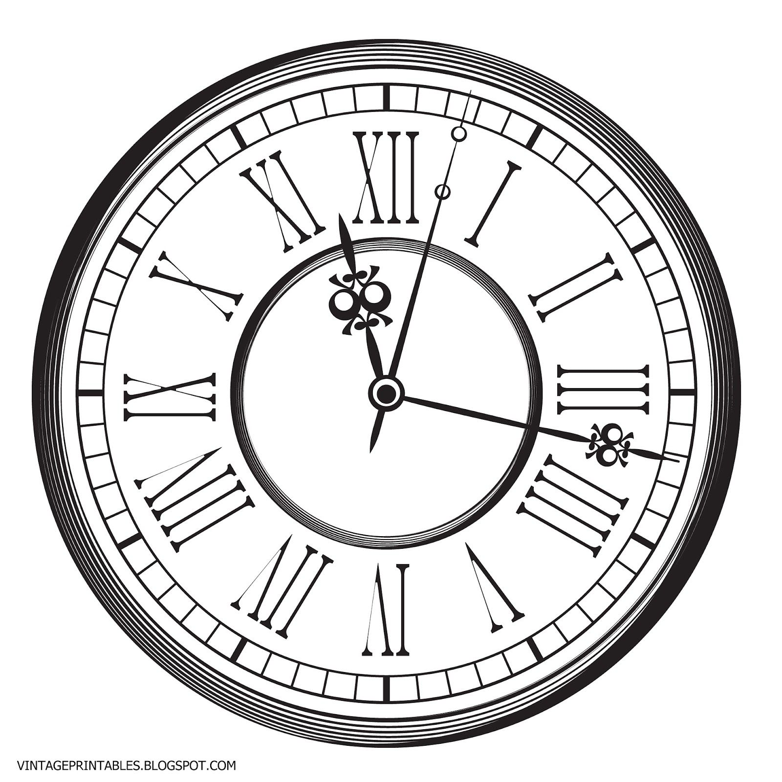 Old Antique Clock Free Clip Art Clock Drawings Clip Art Vintage