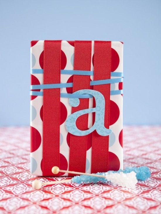 christmas wrapping...