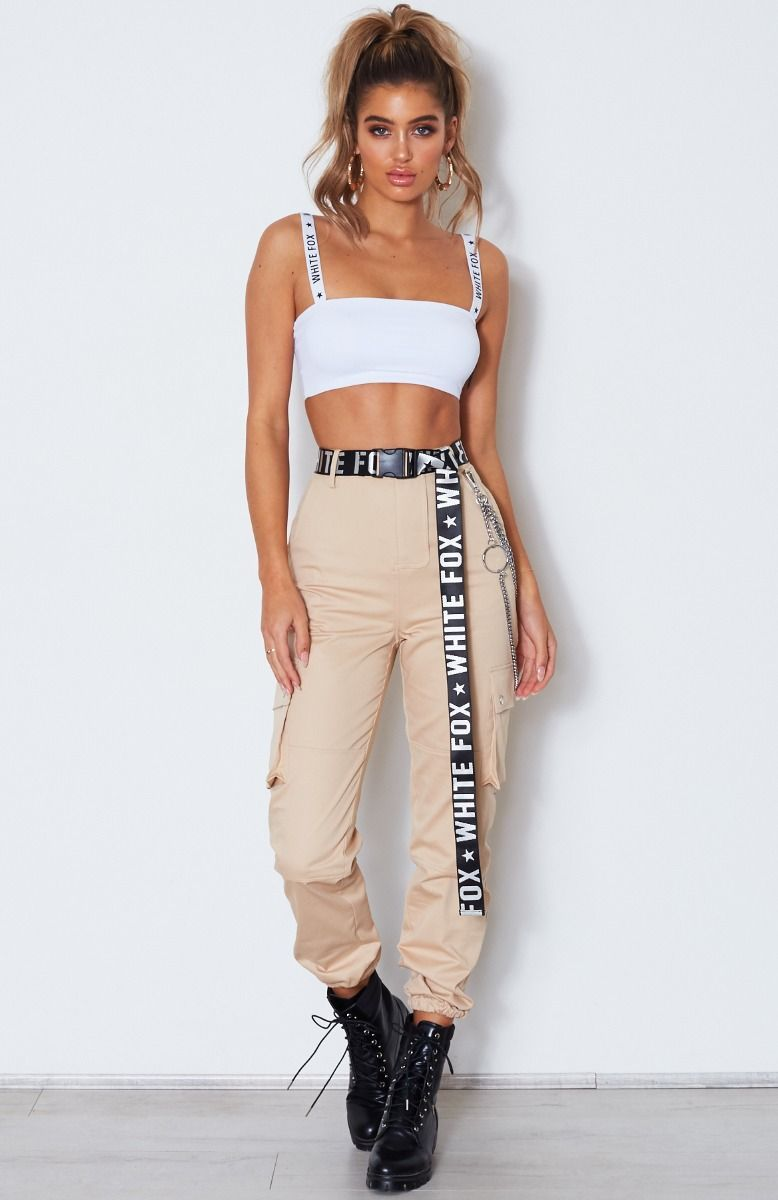 Rollin With My Homies Cargo Pants Beige is part of Cargo pants outfit -