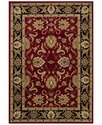 Dalyn St. Charles STC524 Red 8' x 10' Area Rug