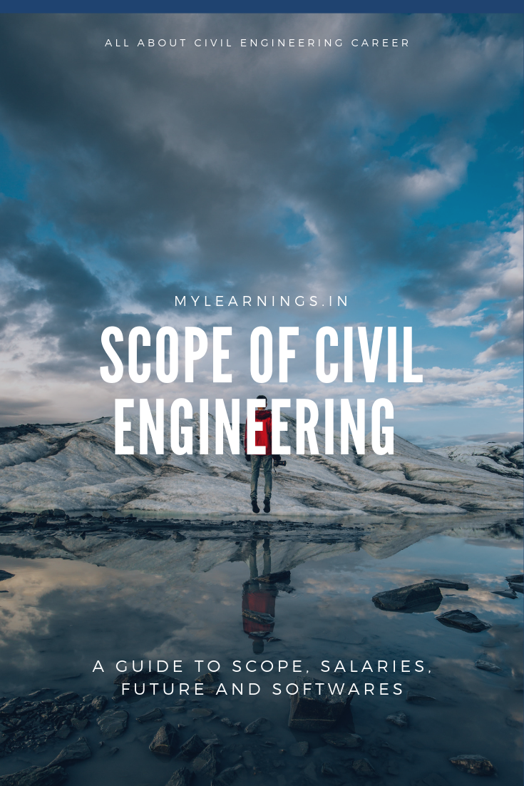 Find details about civil engineering scope, salaries, job