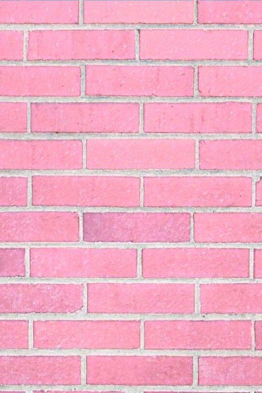 Pink Bricks For Wallpaper