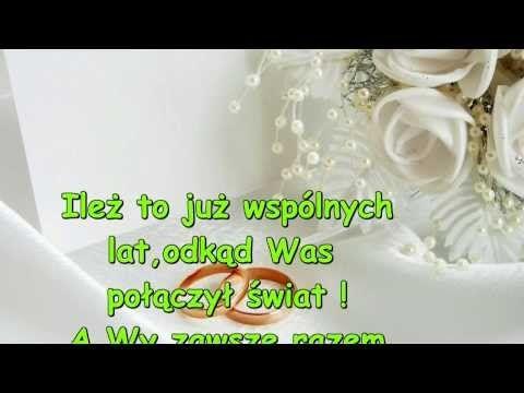 Znalezione Obrazy Dla Zapytania życzenia Na 2 Rocznicę ślubu