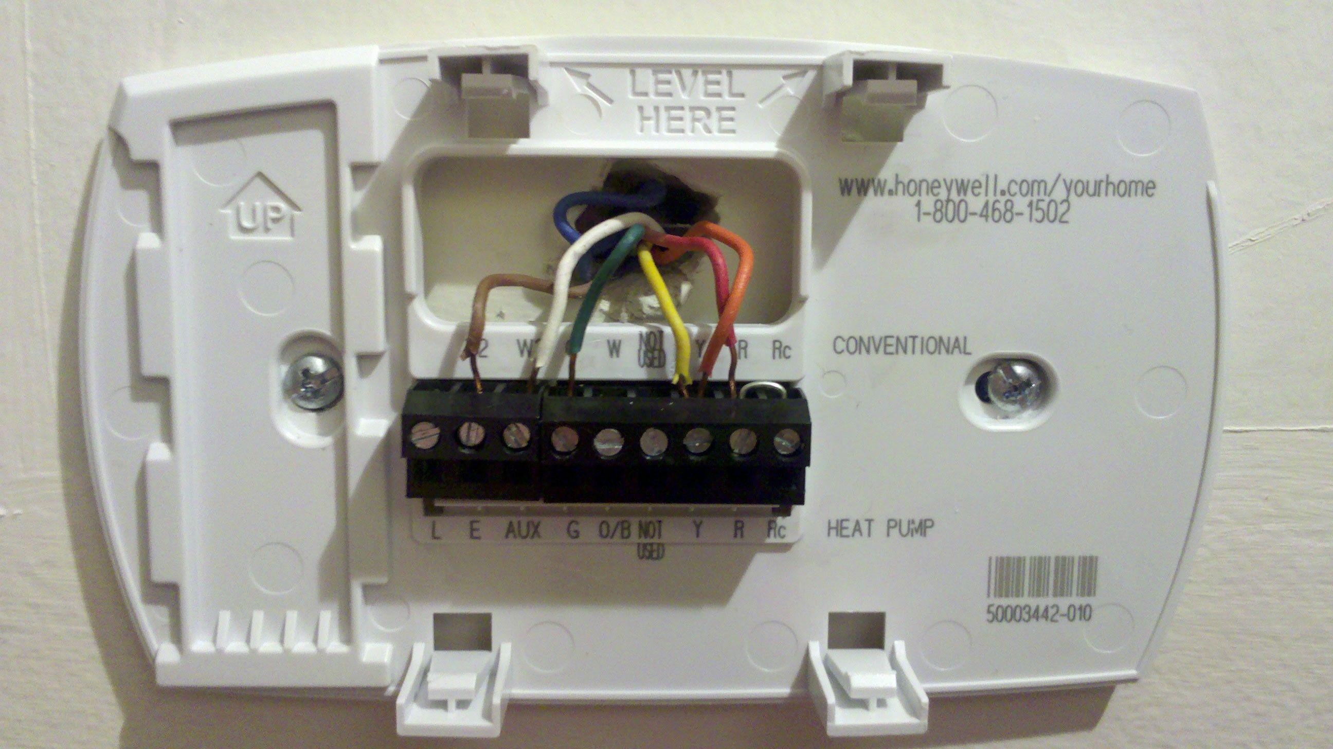 Unique Honeywell T6360b Room thermostat Wiring Diagram
